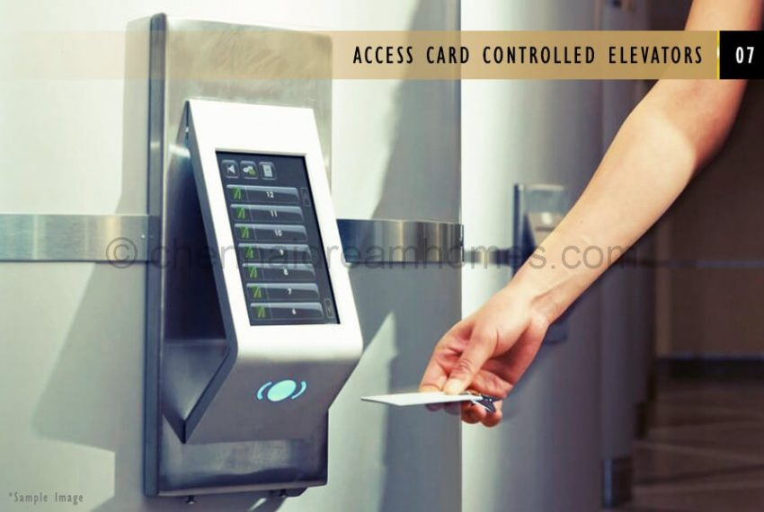 access-card-controlled-elevators