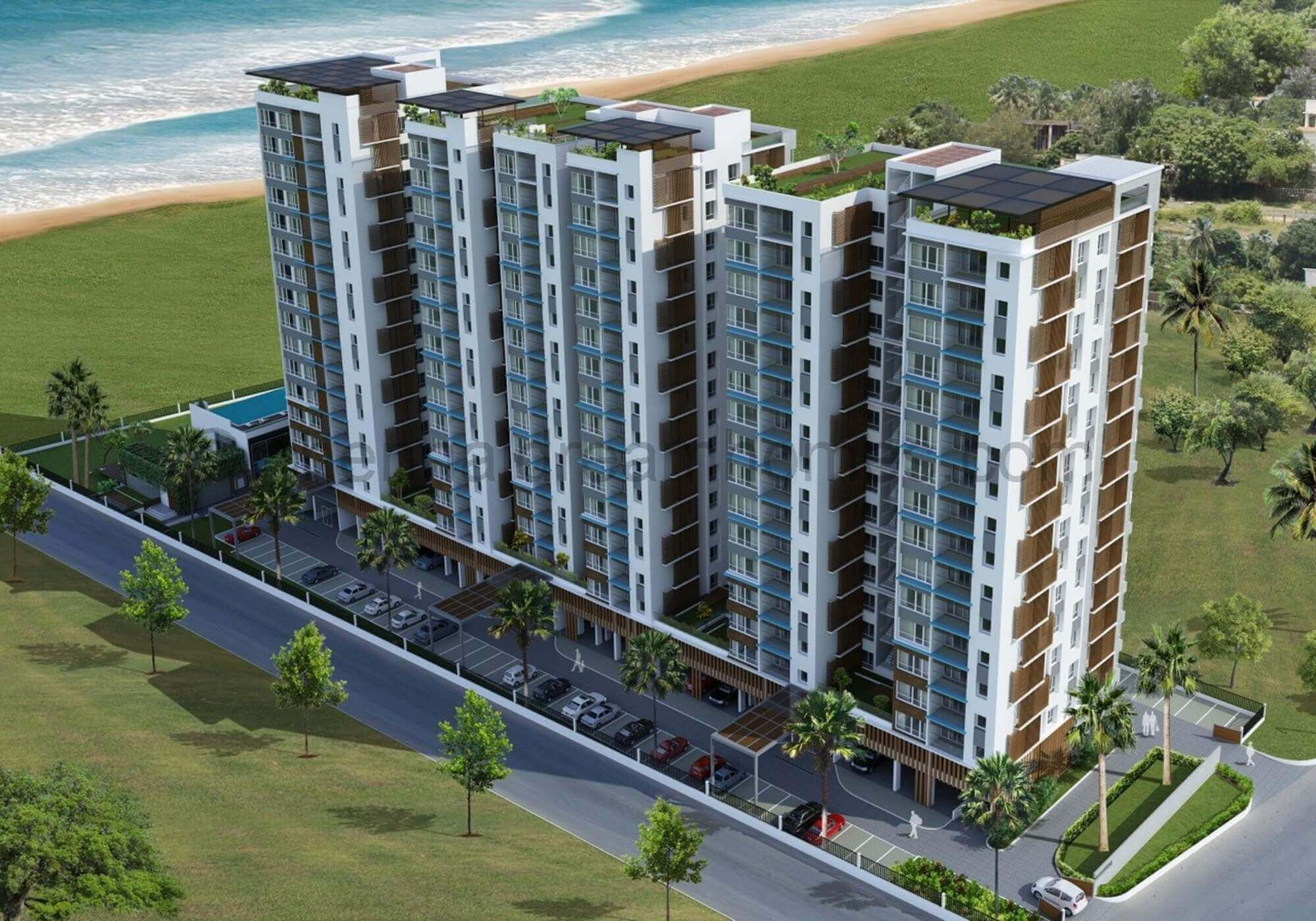 Sea View Apartments In Chennai 3 Bhk High Rise Flats Before Toll