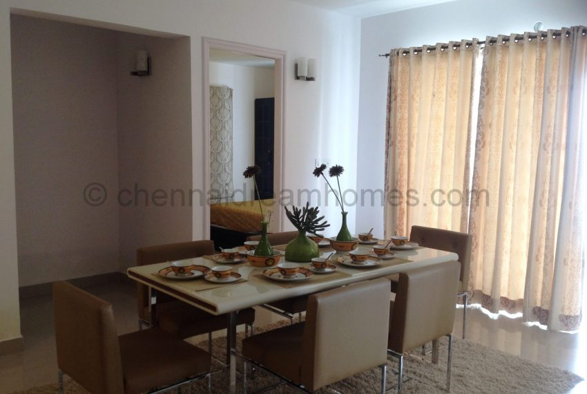 3 BHK - Dining Room