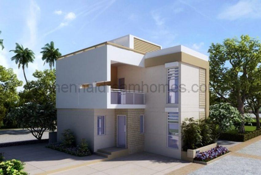 Villa elevation