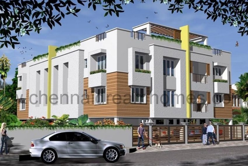 Flats In Ecr Road Chennai 3 Bhk House With Rental Income For Resale