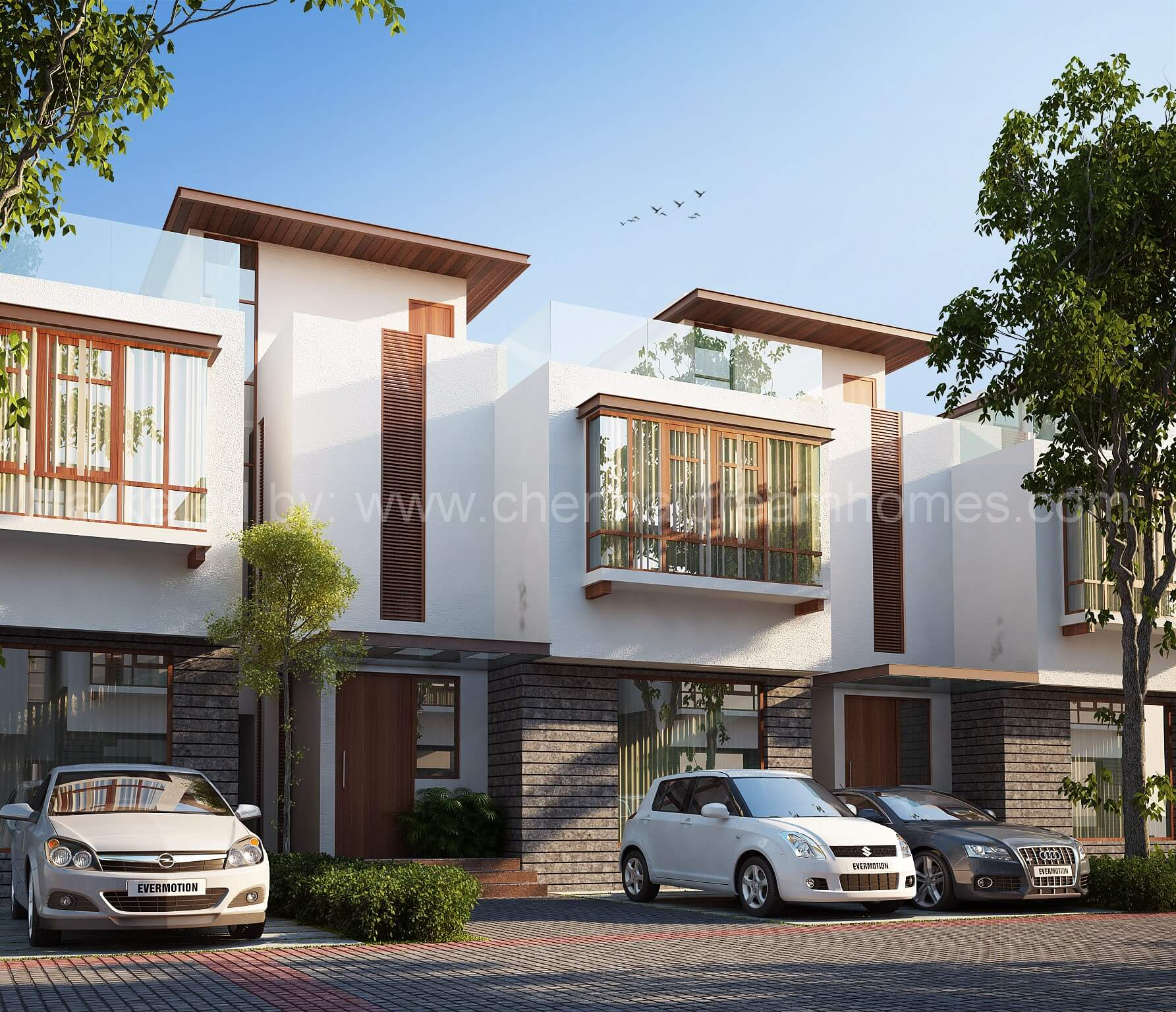 Row Houses In Chennai 3 Bhk Villas Before Toll In Ecr