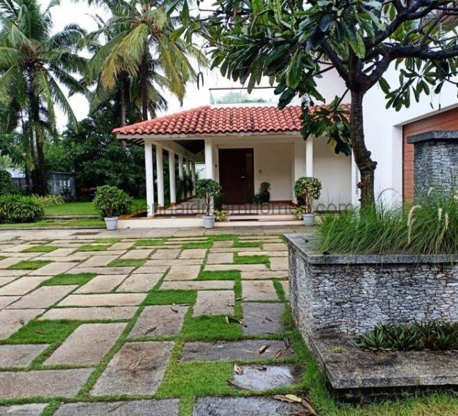 villa in ecr gated community