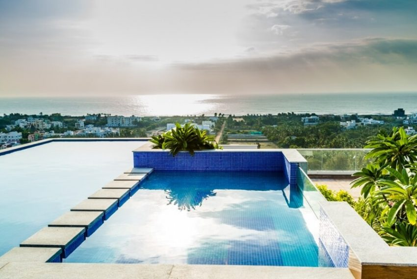 ECR Apartment - Infinity Pool with Direct Sea View