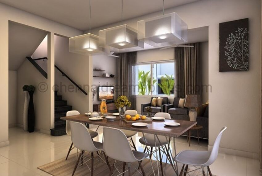 Model-villa-dining-view