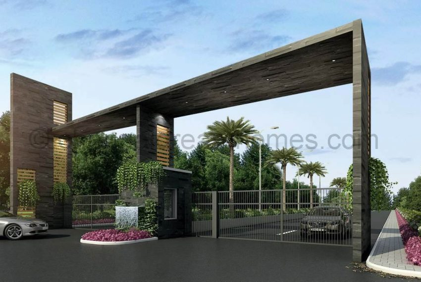 villa-plots-entrance