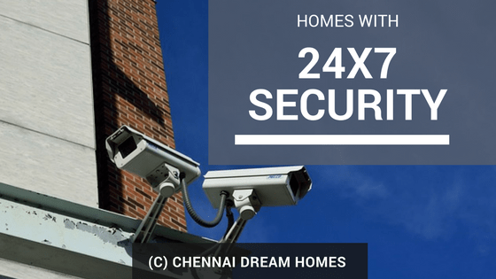 chennai flats with security