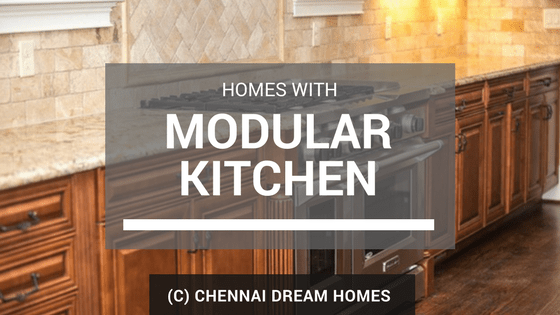 apartment homes with modular kitchen