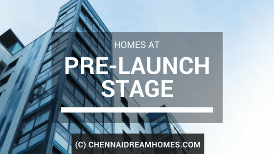 pre launch properties apartment chennai