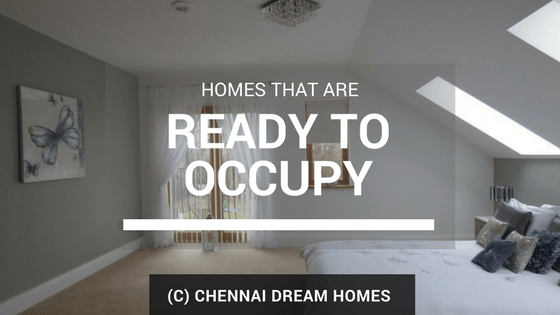 ready to occupy properties chennai