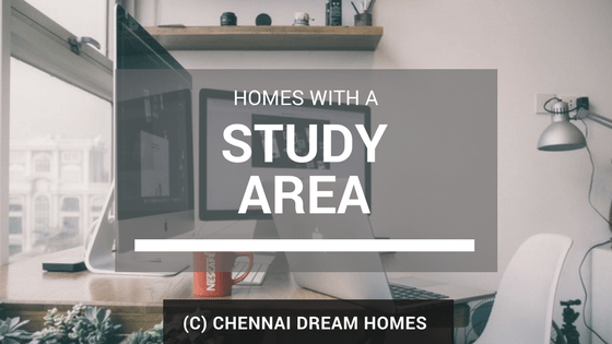 homes with study home office room chennai