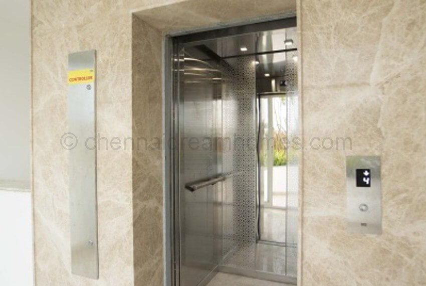 Elevators and Lobby