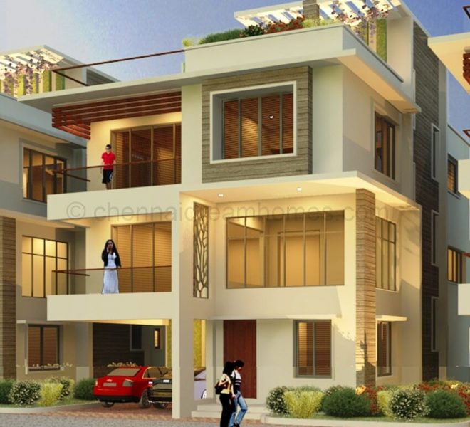 beach villas in ecr