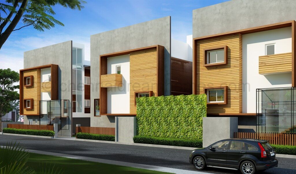 Gated Villas In Ecr 4 Bhk Large Sea Side Villas With