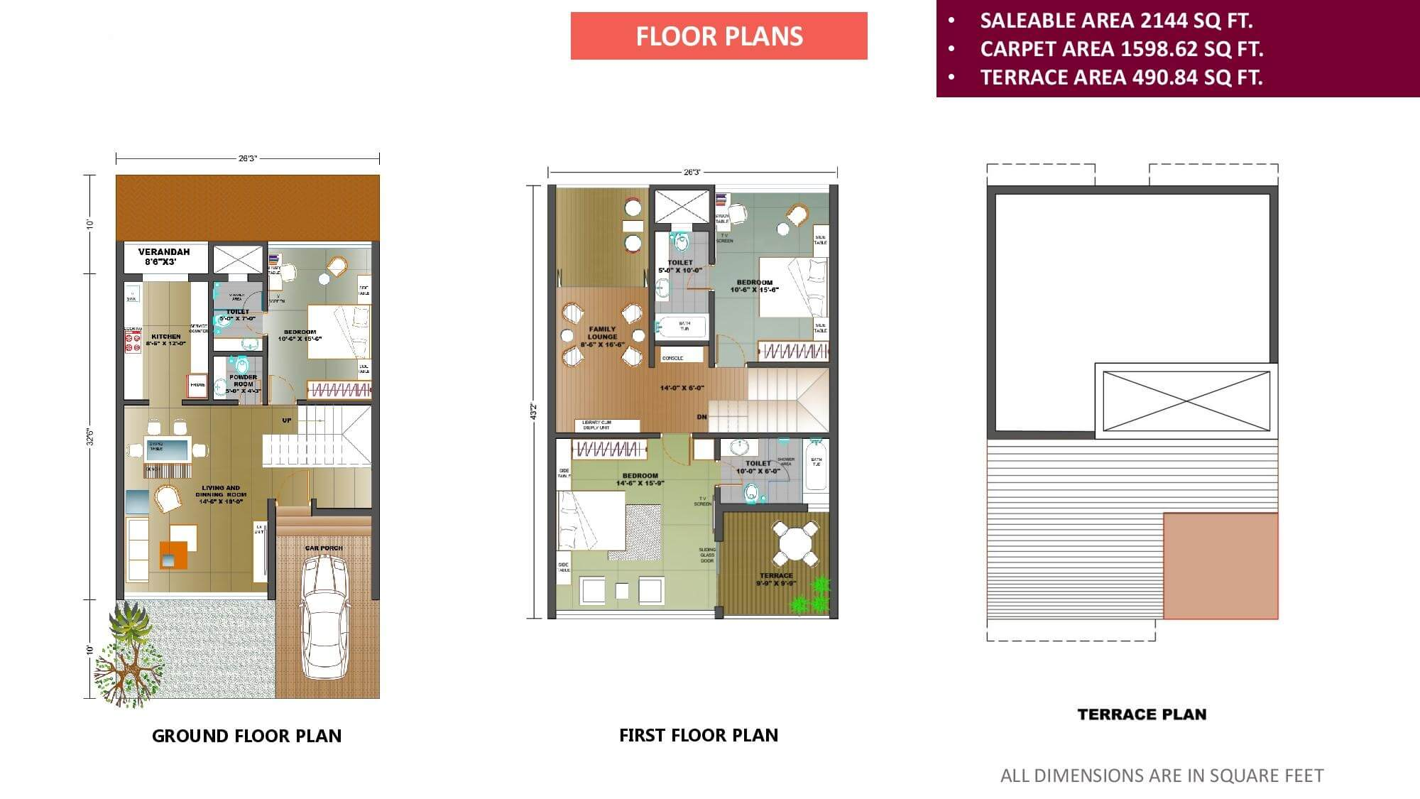Flats Goa 1 Bhk Apartments 3 Rowhouses Town Row House