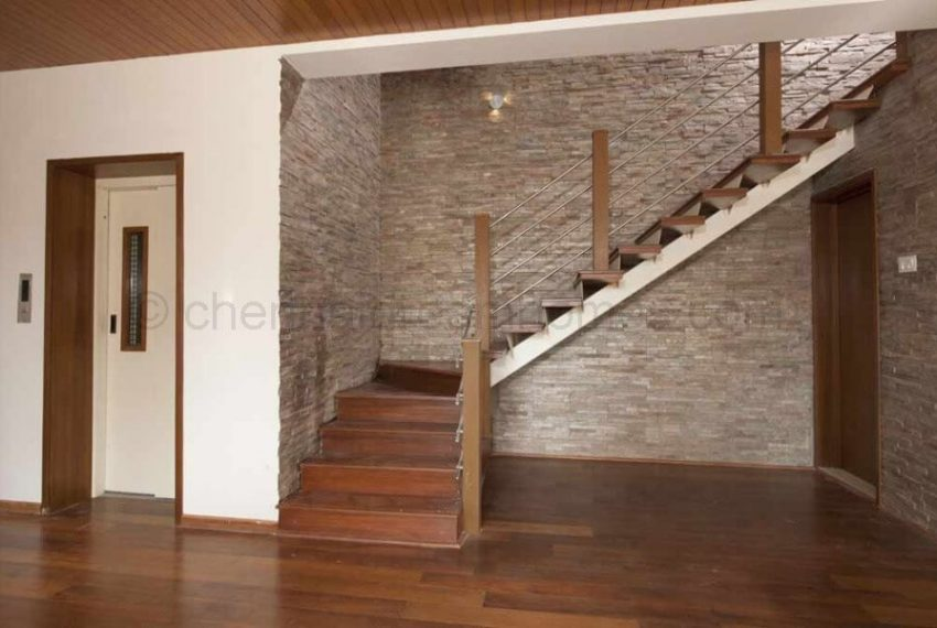 Indoor Stairway and Private Elevator