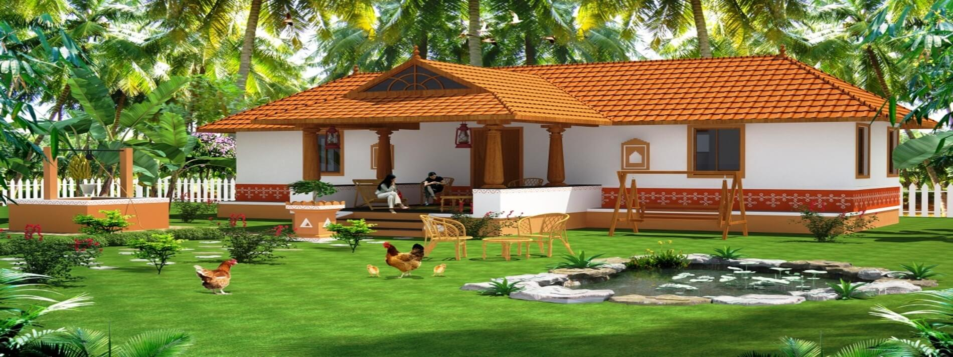 1 & 2 BHK Farmhouse Villas in Coimbatore
