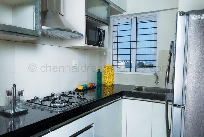2 BHK Model House - Kitchen