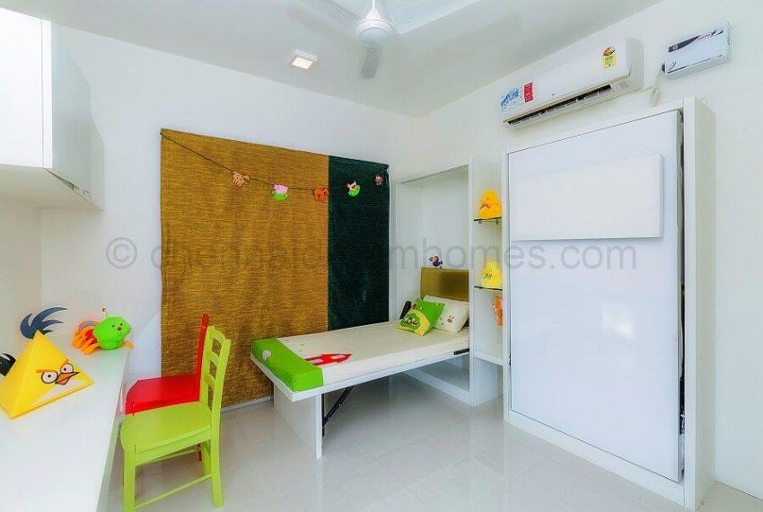 3 BHK Model House - Childrens Bedroom