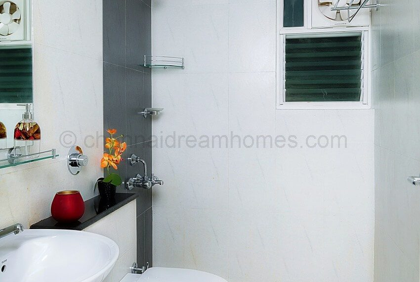 3 BHK Model House - Common Bathroom