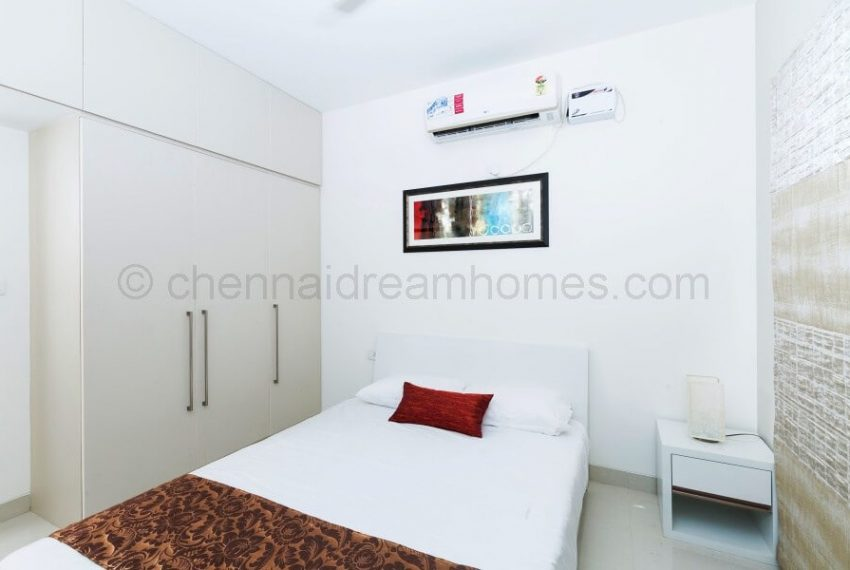 3 BHK Model House - Guest Bedroom