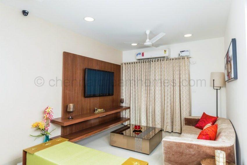 3 BHK Model House - Living