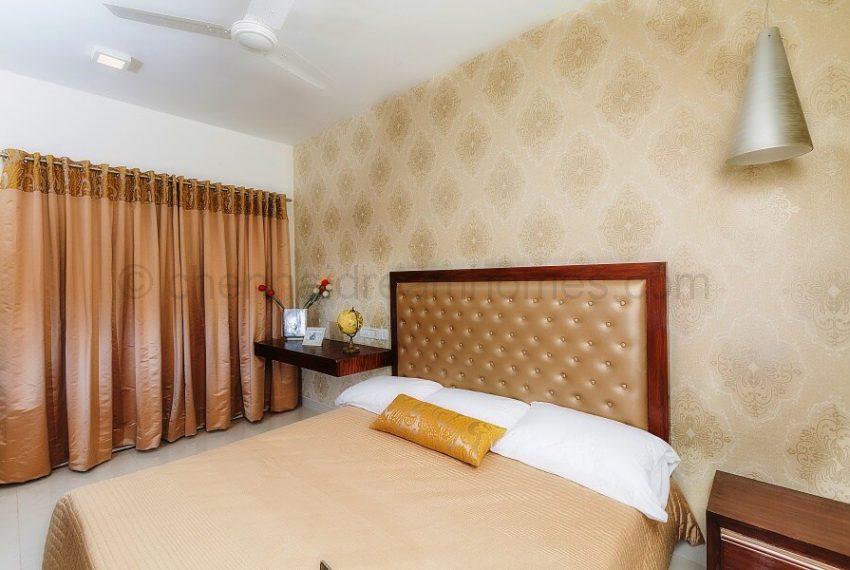3 BHK Model House - Master Bedroom