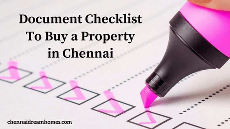 Checklist before buying a Flat