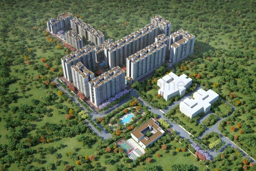 Aerial View - Apartment in OMR