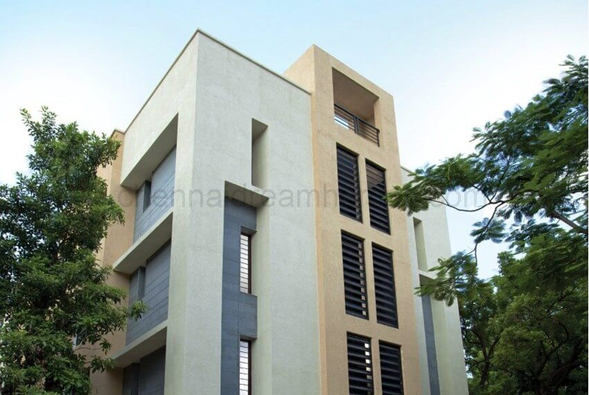 Elevation - 3 BHK Flat in Nungambakkam