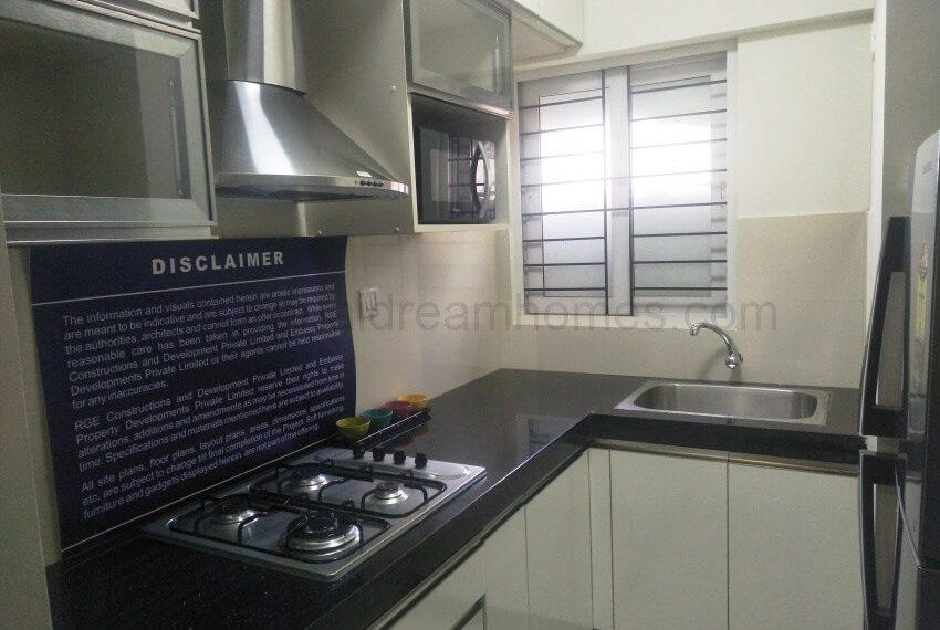1 BHK Model House - Kitchen
