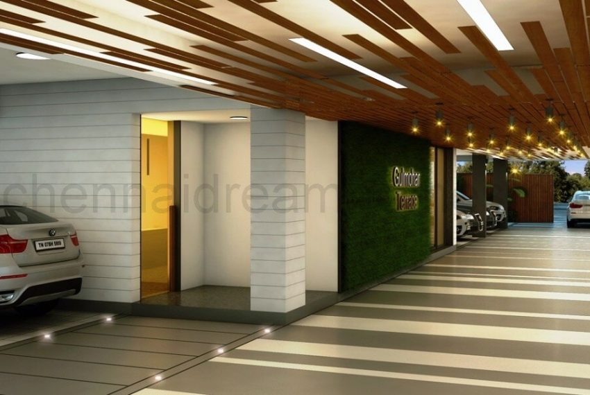 Car-Parking- flats for sale in chetpet