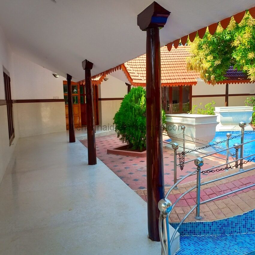 4 BHK Beach House For Rent In ECR On Sea Side With