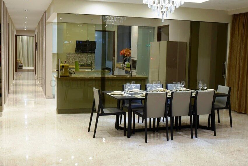 Show apartment - Dining