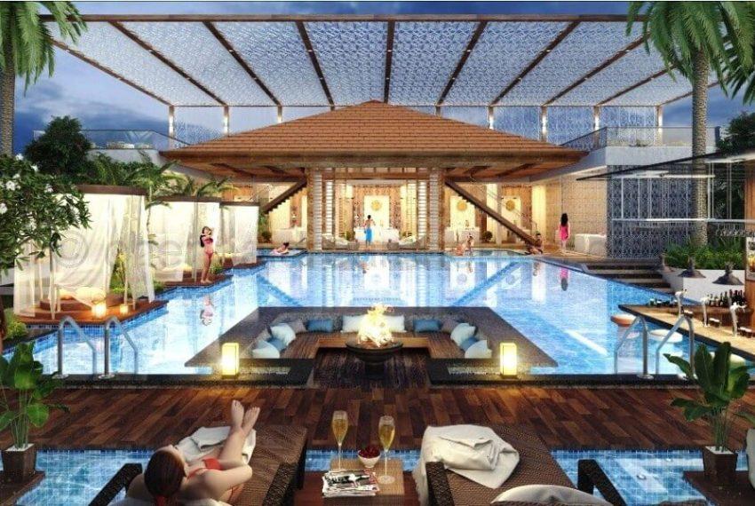 Poolside-area