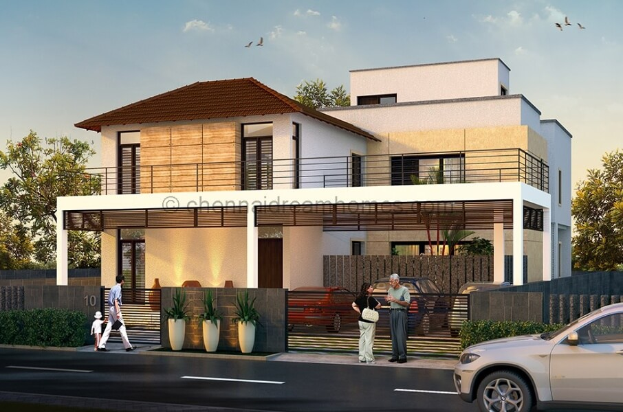 4bhk Villas Sale Ecr Chennai Elevation Watermarked Compressed ...