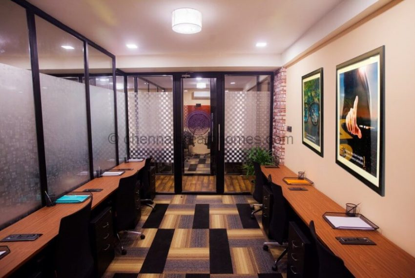 Fully Furnished Office space for rent in Chennai - Workstations