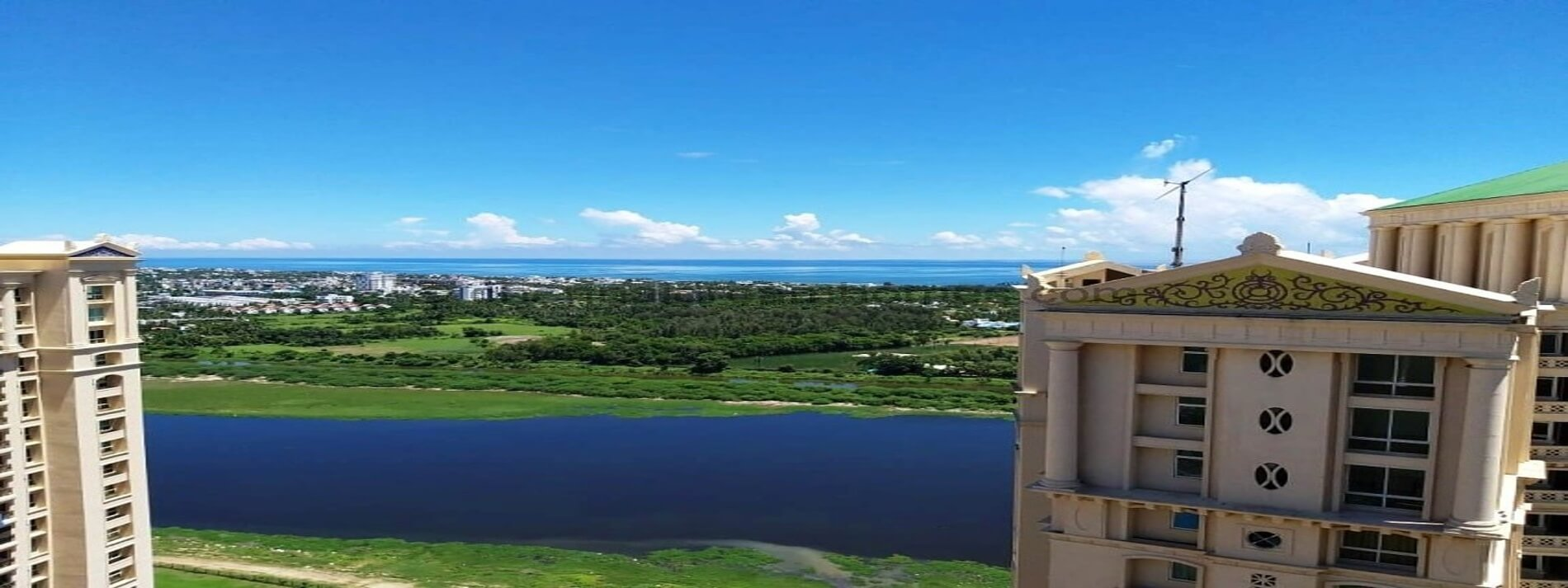3 BHK Apartment for Resale with Sea, Lake view in OMR