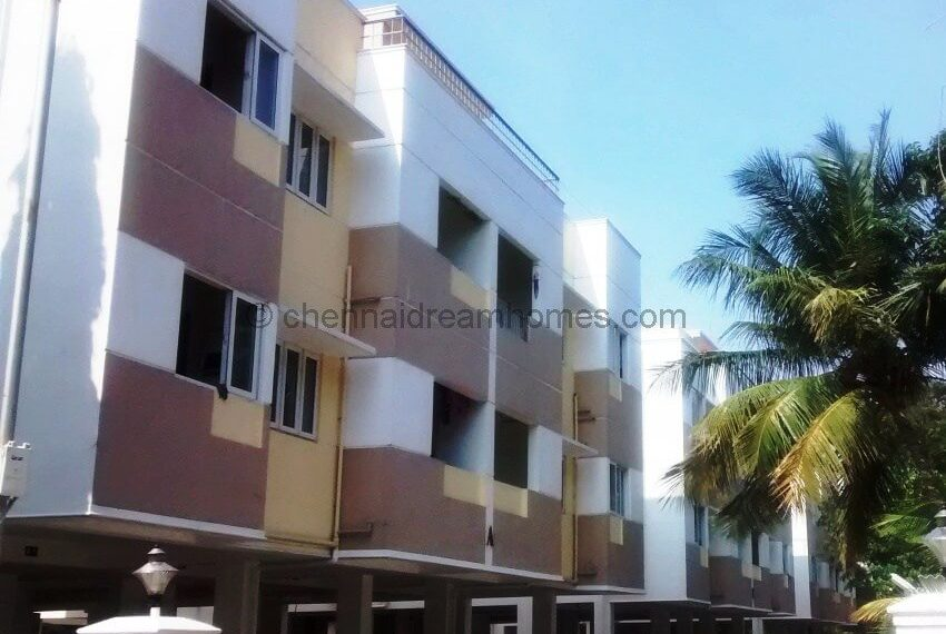 ecr flat 2 bhk elevation